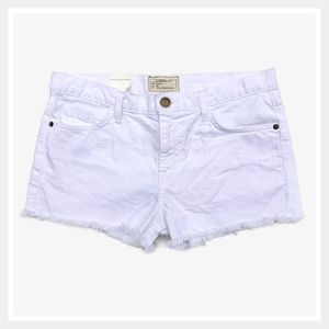 Current/Elliott The Boyfriend Shorts White Size 28